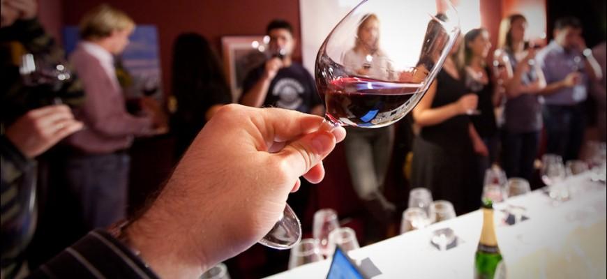 como se cata el vino