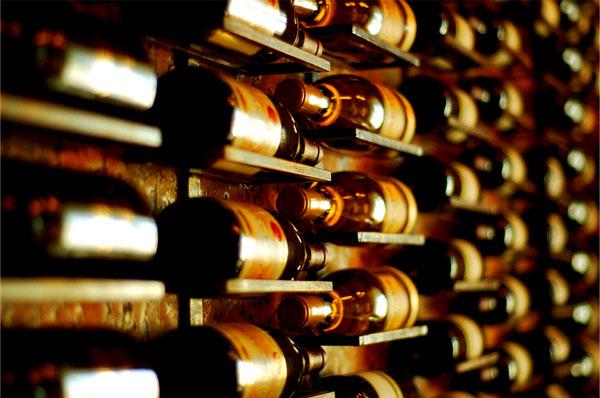 las etiquetas del vino