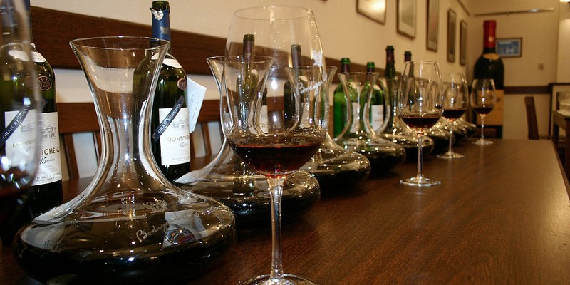 utensilios para el vino