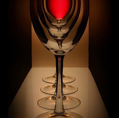 el vino adelgaza
