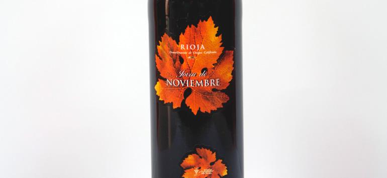 Noviembre vuelve a ser el primer vino de La Rioja